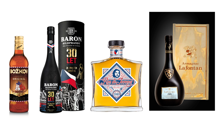 Limitované edice k 30 letům od sametové revoluce, zdroj: Stock Plzeň-Božkov & Premier Wines & Spirits