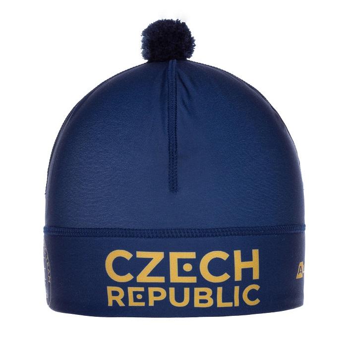 V prodeji bude i olympijská čepice, zdroj: Alpine Pro.
