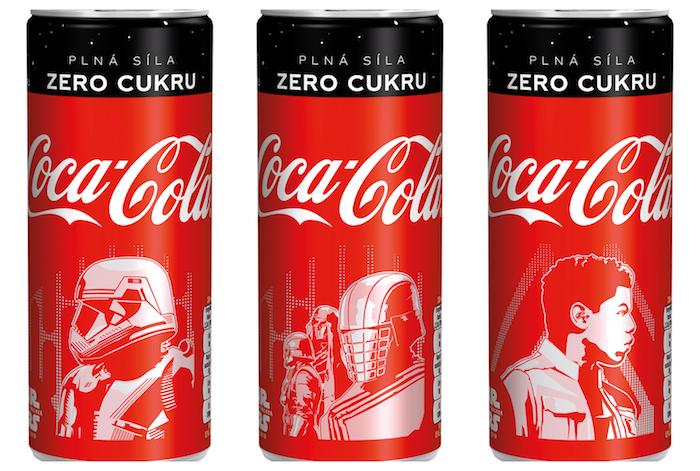 Limitovaná edice značky Coca-Cola Star Wars, zdroj: Coca-Cola