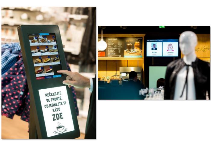 Objednávkový systém na obrazovkách čeští zákazníci nepřijali a firma ho nakonec stáhla s tím, že se k němu třeba časem vrátí, zdroj: Tchibo