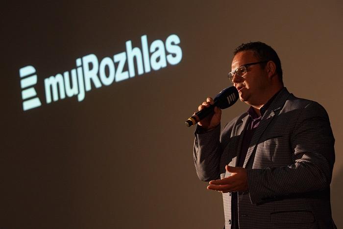 Generální ředitel René Zavoral při představení projektu