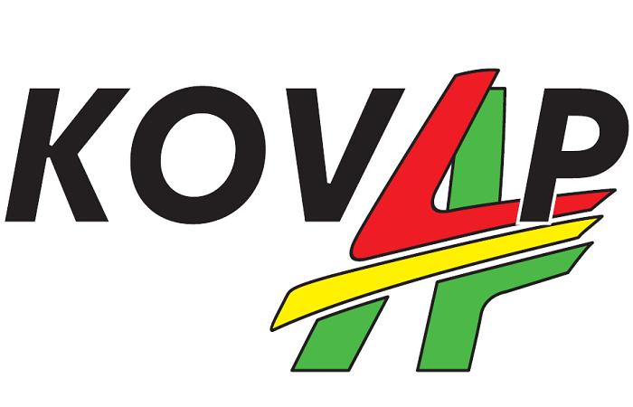 Takto vypadalo staré logo firmy, zdroj: FB Kovap