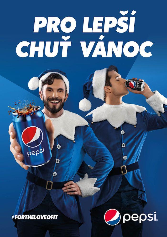 Klíčový vizuál ke kampani Pepsi, zdroj: PepsiCo