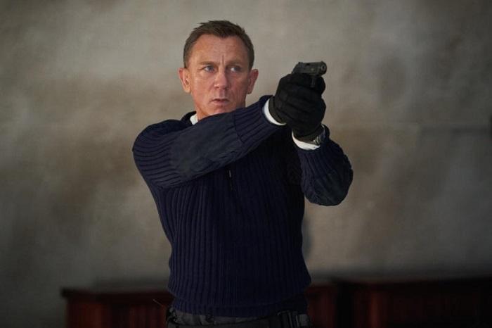 Daniel Craig v roli Jamese Bonda v novém snímku Není čas zemřít, který bude uveden v dubnu 2020, zdroj: IMDd.