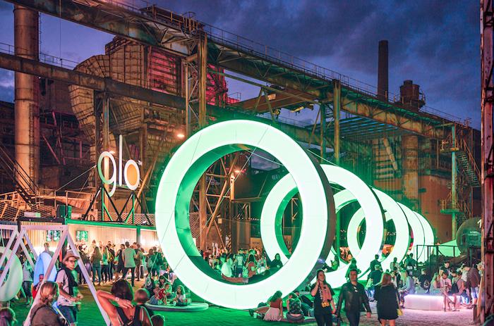 Aktivace značky Glo na Colours of Ostrava 2019, foto: Petr Klapper