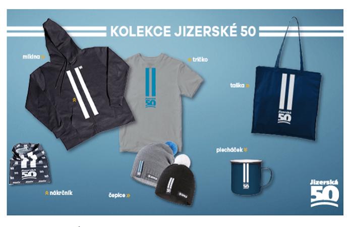 Hervis je partnerem Jizerské 50 a nabízí i speciální kolekci, otevírá pop-up prodejnu v Liberci a stan v Bedřichově, loni díky tomu narostli v prodejích během závodu o 30 %, zdroj: Hervis web