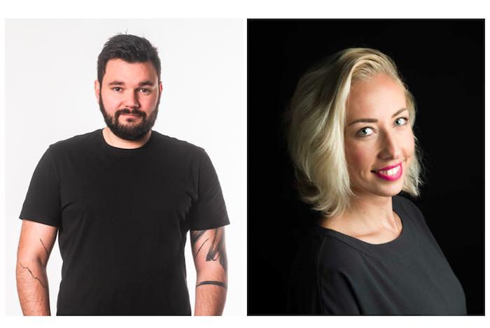 Nové tváře agentury DDB: Jakub Horváth a Lucie Poláková, zdroj: DDB Prague