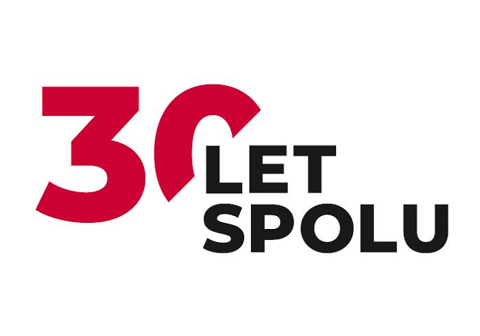 Logo symbolizující 30. výročí na trhu, zdroj: KB