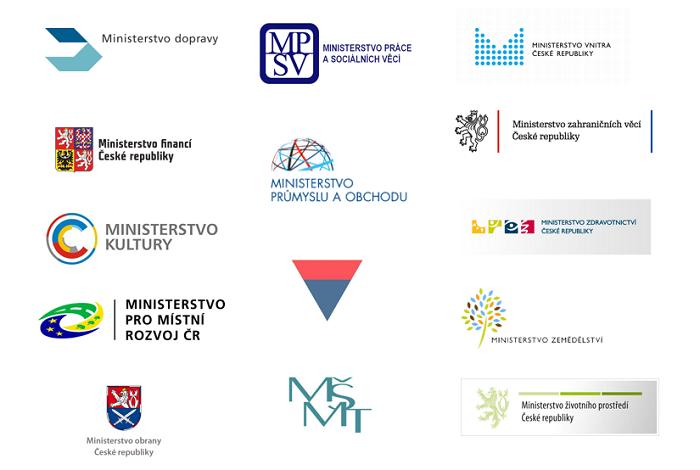 Loga českých ministerstev
