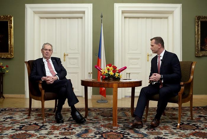 Týden s prezidentem, foto: TV Barrandov