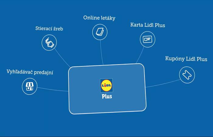 Nejen jako virtuální věrnostní karta, ale také pro další slevy, letáky, uložení účtů a další funkce má nová aplikace Lidl Plus, zdroj: web Lidl SK