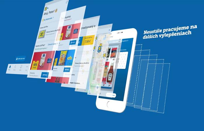 Lidl posílá přes aplikaci speciální slevové kupóny, zdroj: web Lidl SK
