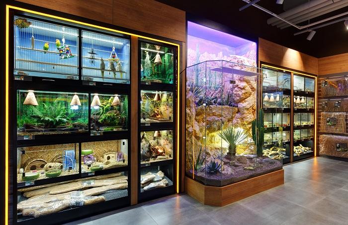 Živá zvířata jsou v novém konceptu nutností v každé prodejně, zdroj: Super Zoo