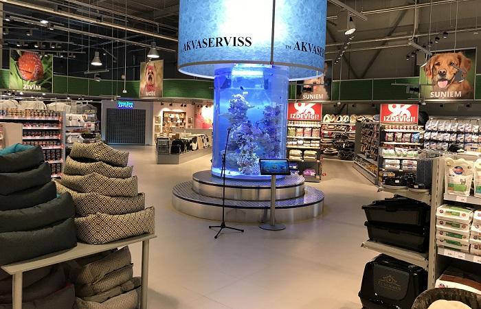 V lotyšské Rize má firma nejvězší prodejnu v rámci celé sítě, zdroj: Plaček Group