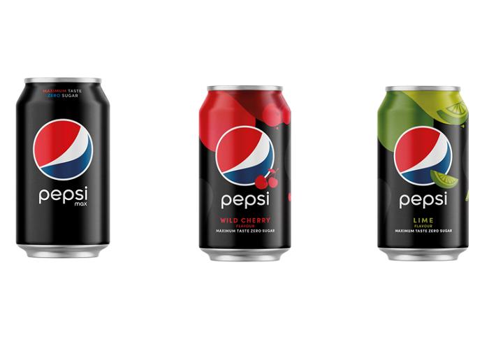 Plechovky Pepsi s bezkalorickými variantami budou nyní v matném provedení, zdroj: Mattoni 1873.