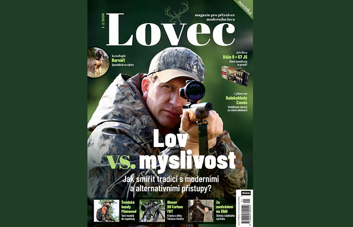 Obálka magazínu Lovec, zdroj: Extra Publishing