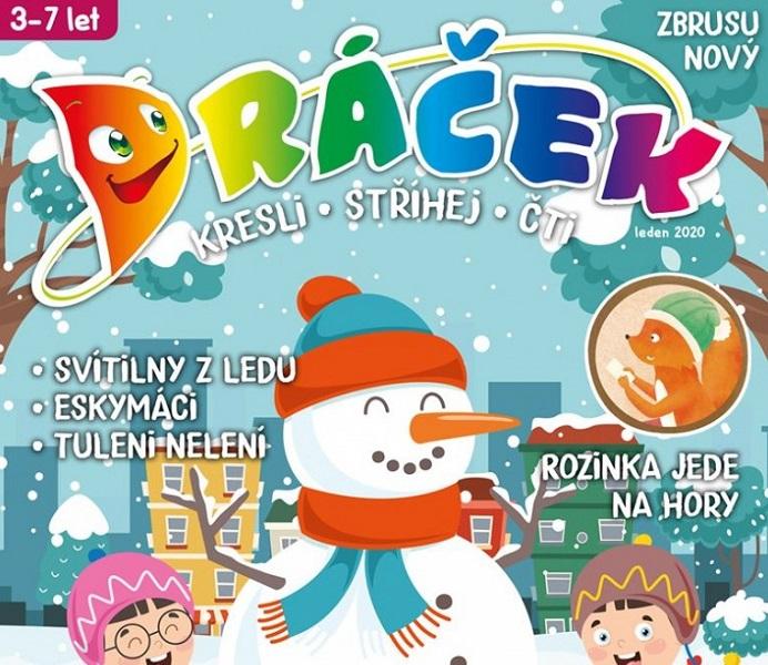 Náhled titulní strany časopisu Dráček