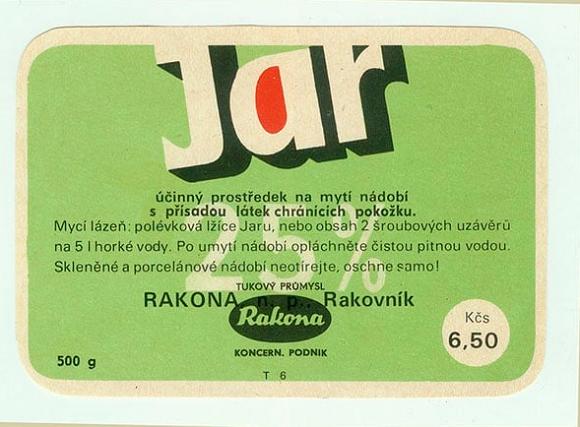Jar byl poprvé na trh uveden v roce 1960, zdroj: P&G.