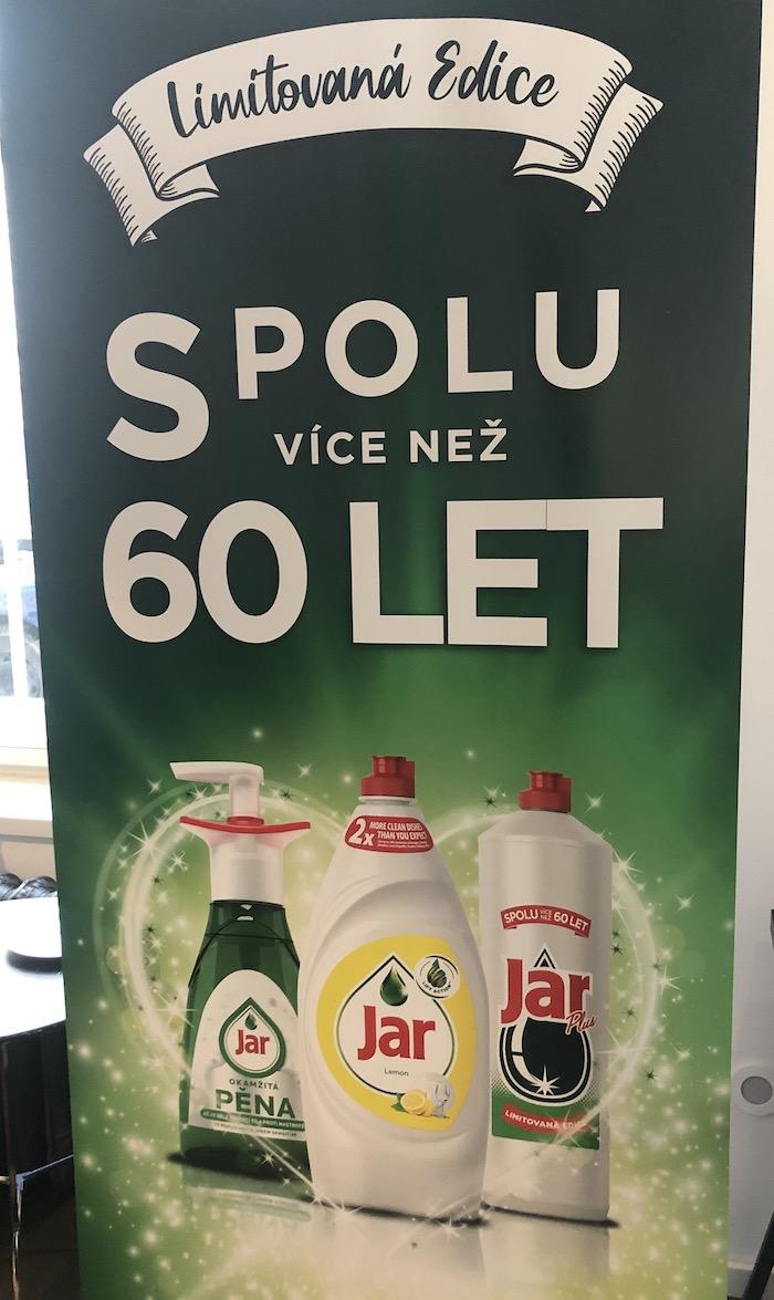Klíčový vizuál k připomenutí 60 lety od uvedení Jaru na trh, foto: MediaGuru.cz