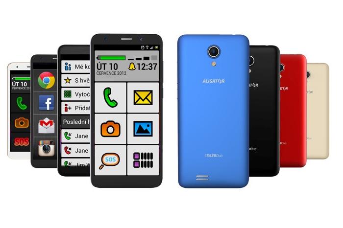 Aligator uvádí chytrý telefon pro seniory S5520, zdroj: Aligator.