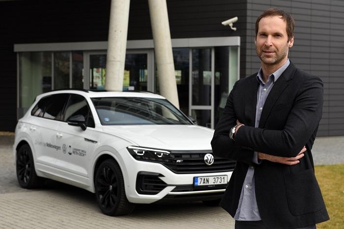 Ambasadorem značky Volkswagen se stal Petr Čech, zdroj: VW.