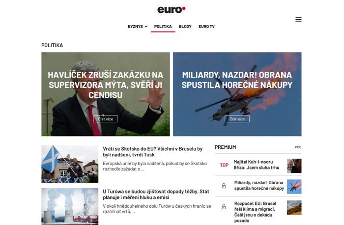 Zdroj: Euro.cz