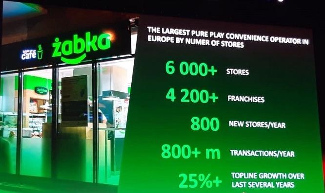 Řetězec Žabka provozuje v Evropě přes 6 tisíc prodejen, otevírá dva nové obchody denně. V ČR patří pod společnost Tesco, foto: MediaGuru.cz.