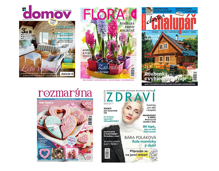 Repro: Časopisy pro volný čas