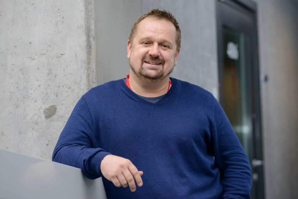 Petr Fischer, šéfredaktor stanice Vltava, foto: Český rozhlas - Khalil Baalbaki