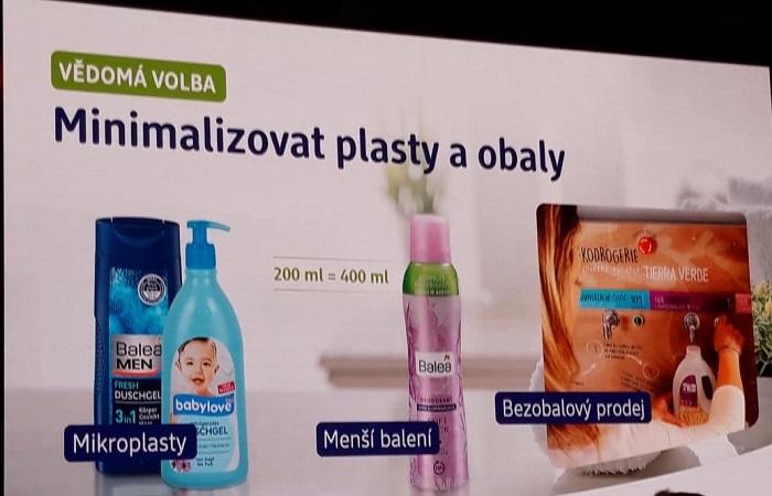Dm drogerie markt se věnuje vylepšování vlastních produktů i obalové strategie, foto: MediaGuru.cz.