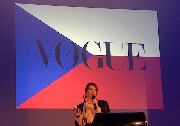 Andrea Běhounková, šéfredaktorka Vogue ČS na letošní Konferenci content marketing, foto: MediaGuru.cz