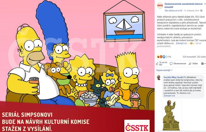 Zdroj: FB ČSSTK