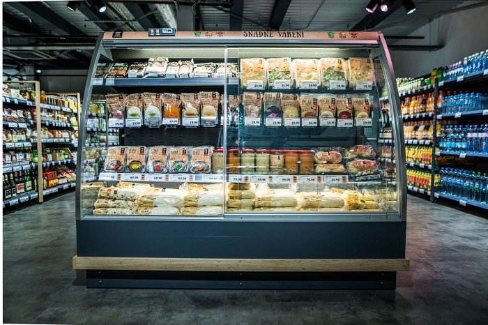 Globus Fresh nabídne pod jednou střechou prodejnu, kavárnu i restauraci, zdroj: Globus.