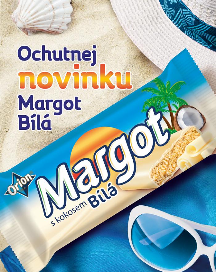 Klíčový vizuál ke kampani na Margot bílou, zdroj: Nestlé