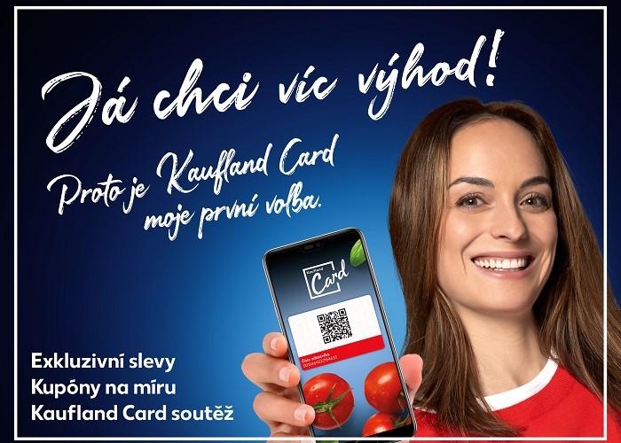 Kaufland by rád, aby jeho kartu využívalo 1,5 milionu zákazníků, denně se jich prý přihlásí 50 tisíc, zdroj: Kaufland ČR