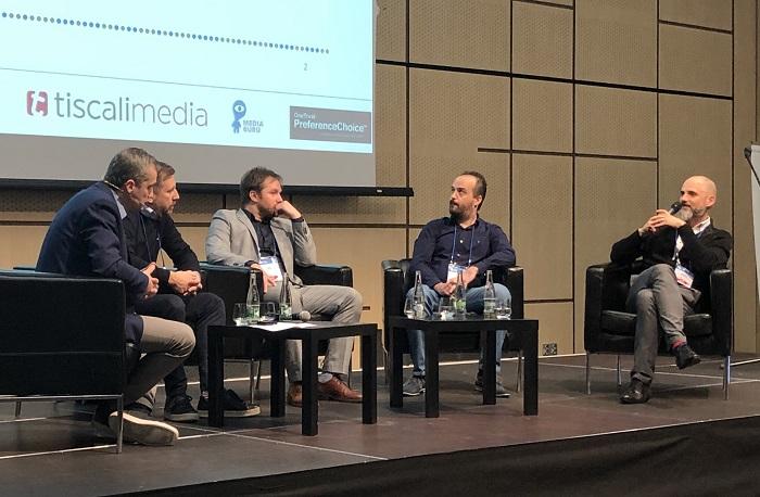 Panelisté v diskusi o crossmediálním měření, zdroj: MediaGuru.cz