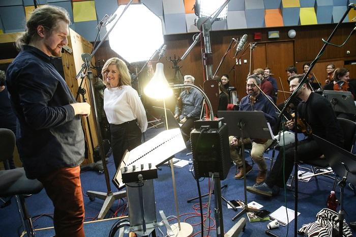 Terezie Tománková s orchestrem, foto: FTV Prima