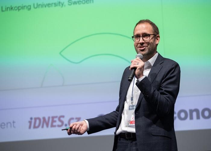 Oliver Whitten na letošní konferenci IAC, foto: SPIR