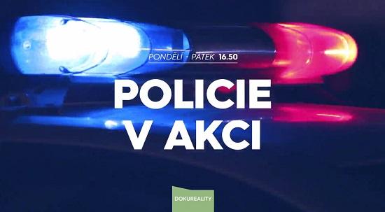Policie v akci, foto: TV Prina