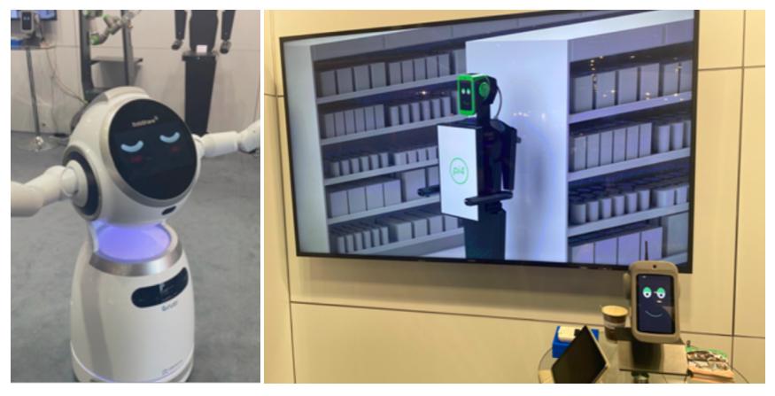 """Roboti většinou zastávají jen imageovou a informační funkci. Ti """"chytřejší"""" se uplatňují zatím jen v automatizovaném in-store auditu, foto: Daniel Jesenský."""