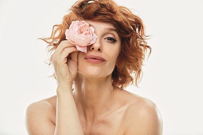 Vica Kerekes se stala tváří jarní kampaně Marionnaud, foto: Anna Kovacic.