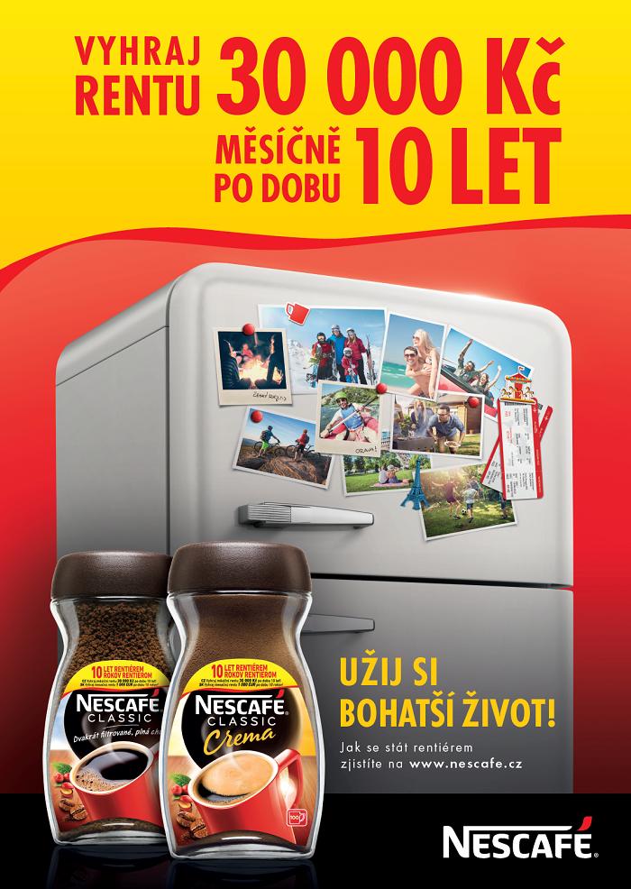 Klíčový vizuál kampaně Nescafé, zdroj: Nestlé