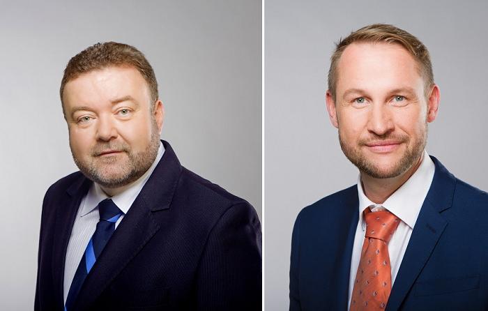 Miroslav Karas a Jan Souček, foto: ČT