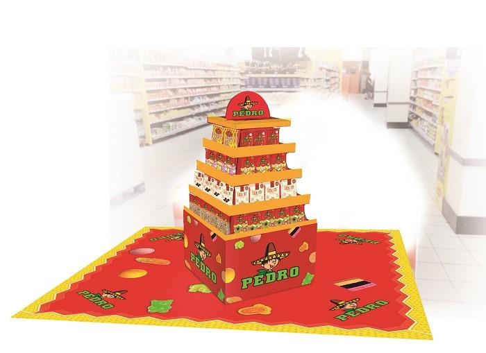 Pedro v březnu spustí jarní kampaň v 18 hypermarketech Albert, zdroj: The Candy Plus Sweet Factory.