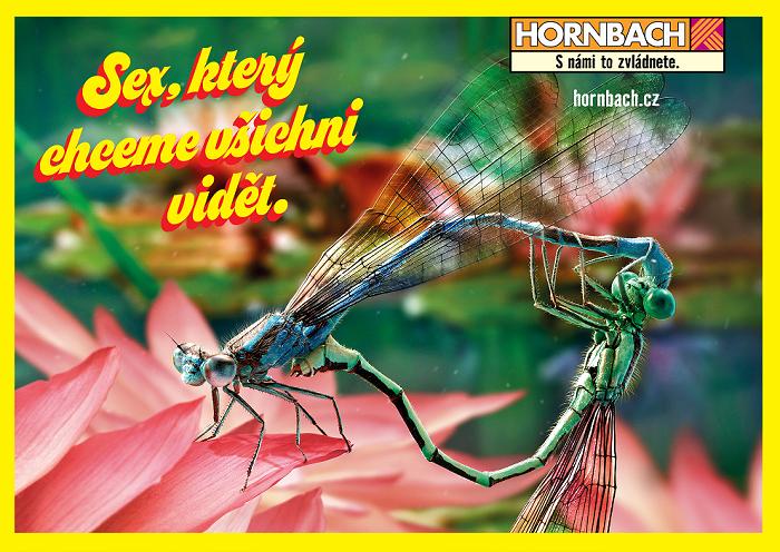 Netradiční kampaň, zdroj: Hornbach