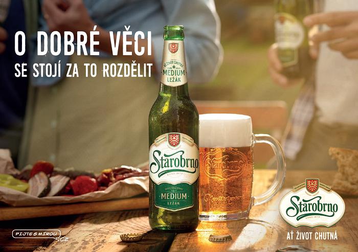 Klíčový vizuál Starobrna, zdroj: Heineken