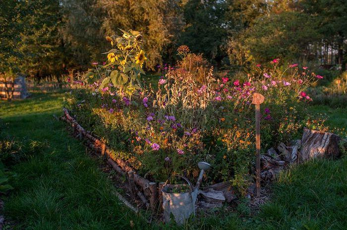 Zahrada využívá principů permakultury, zdroj: Nobilis Tilia.