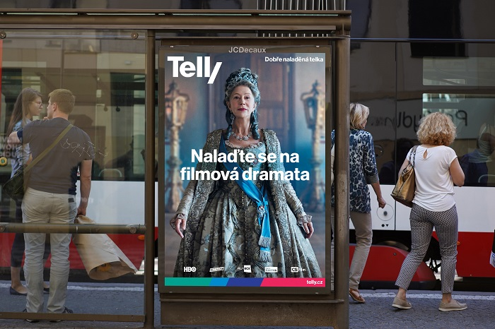 Nová vizuální identita Telly, zdroj: Telly