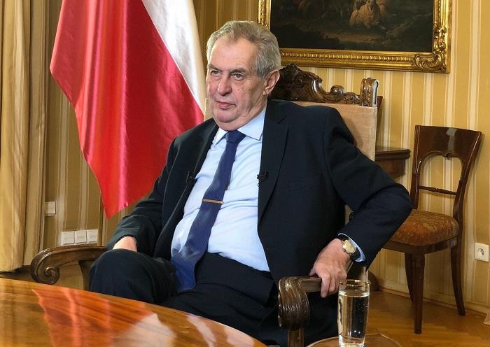 Prezident Miloš Zeman, zdroj: TV Barrandov