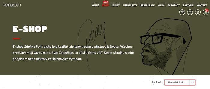 Jedním z hráčů, kteří urychlili svůj vstup do online prostředí, je Zdeněk Pohlreich, zdroj: Pohlreich.cz